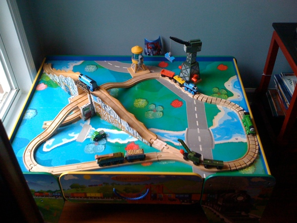 "I even ""staged"" Thomas"